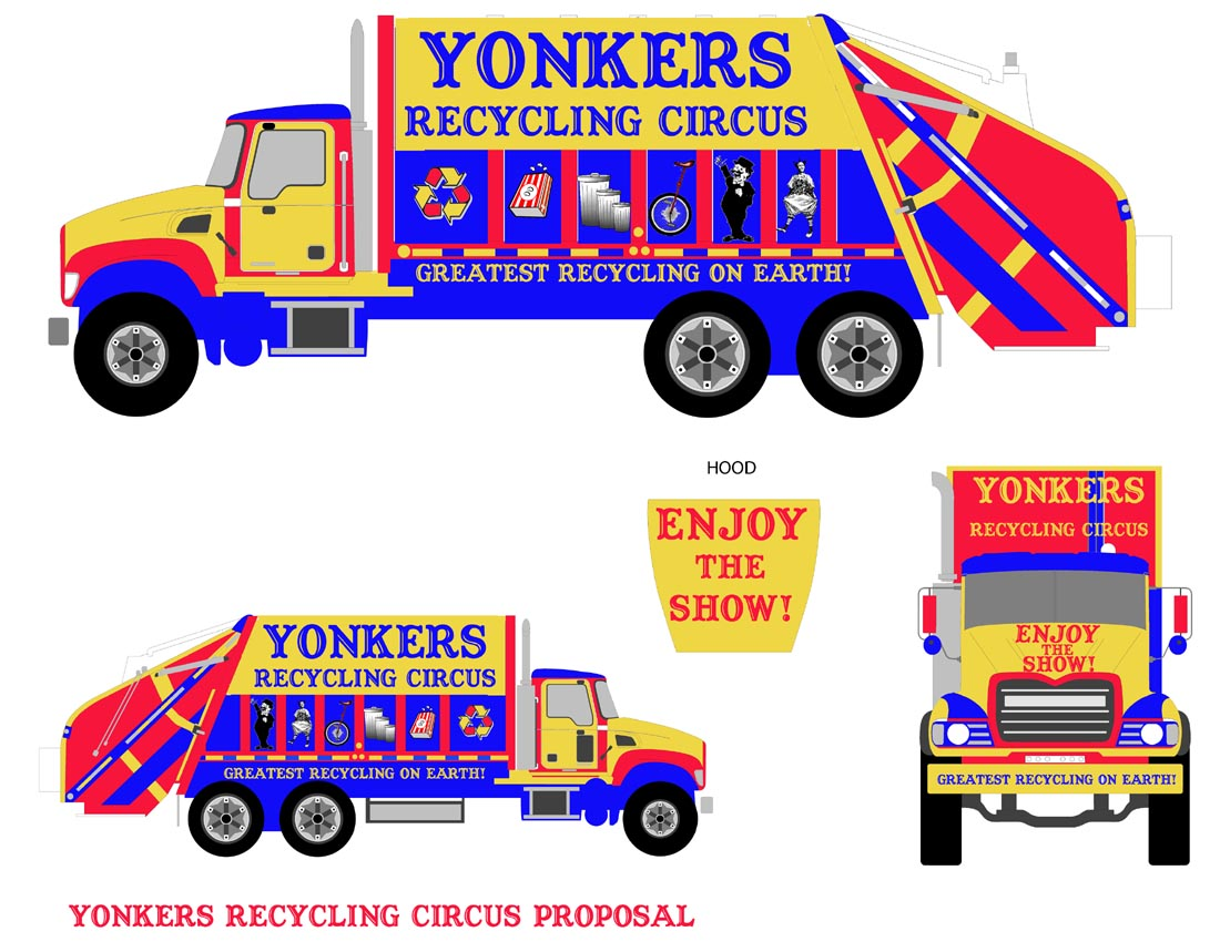 Recycling Truck Circus Proposal